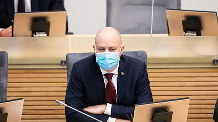 """A.Veryga apie koronaviruso plitimą: """"Ši savaitė bus kritinė"""""""