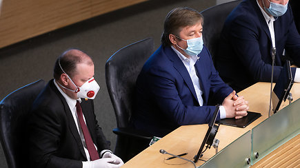 """""""Kovidiniame"""" Seime svarbus balsavimas dėl I.Šimonytės: komentarai"""