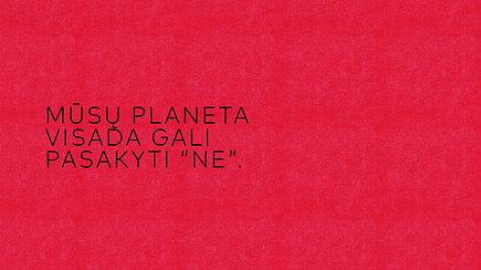 """""""Sirenos 2019"""": rašytoja Vaiva Grainytė – apie mūsų planetos """"NE"""" ir tai, kas neparašyta"""