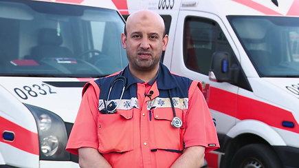 Skubios pagalbos gydytojas iš Sirijos į Lietuvą atvyko bėgdamas nuo karo