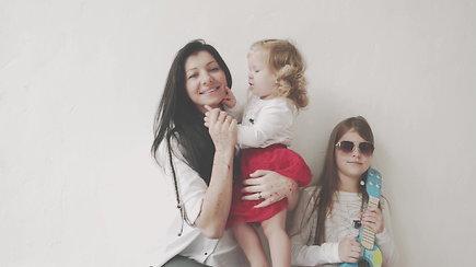 Vaida Rimiškienė: aš paskiepijau savo dukrytes nuo meningokokinės infekcijos
