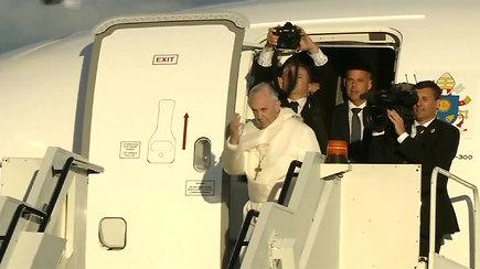Popiežius išvyko iš Estijos – baigėsi istorinis vizitas Baltijos šalyse