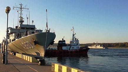 Karinių jūrų pajėgų atstovas Ramūnas Kažerskas: Priešmininiai laivai Baltijos jūroje ieško karo metu likusių minų