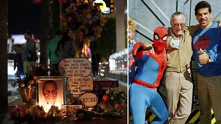 """Jis sukūrė savo visatą: komiksų pasaulis gedi  """"Marvel"""" legendos Stano Lee"""