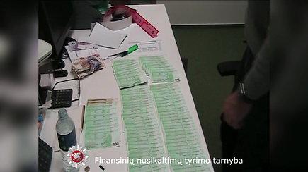 Demaskuota grupuotė, prieš 5 metus Lietuvos šešėlinėje ekonomikoje panaudojusi 60 mln. eurų