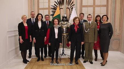 Lenkija dėkoja Lietuvai už sveikinimus nepriklausomybės atkūrimo 100-mečio proga