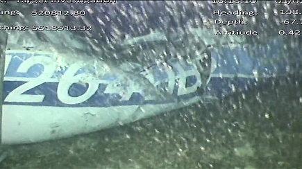 Futbolininką E.Salą skraidinusio lėktuvo nuolaužose rastas kūnas