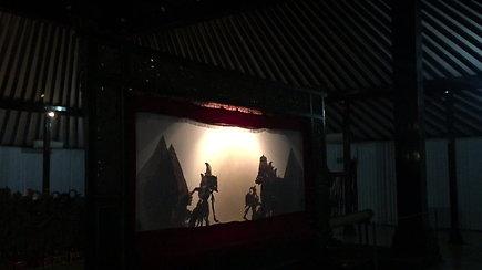 Tradicinis Indonezijos šešėlių teatras