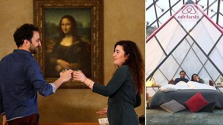 Išskirtinės galimybės pavydės pasaulis: laimėkite nakvynę Luvro muziejuje ir vakarienę su Mona Liza
