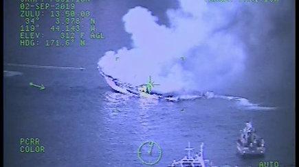 Paviešintas tragiškas vaizdo įrašas, kai liepsnojo nardytojų laivas – žuvo 34 keleiviai
