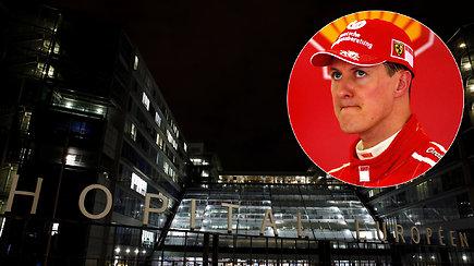 """M.Schumacheriui Paryžiaus ligoninėje bus taikomas """"slaptas gydymas"""" – medikai jį vadina revoliuciniu"""