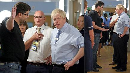 Borisas Johnsnonas to nesitikėjo: ligoninėje jį užsipuolė įsiutęs sergančios mergaitės tėtis