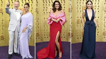 """""""Emmy"""" apdovanojimų kilimu žengę aktoriai spindėjo elegancija"""