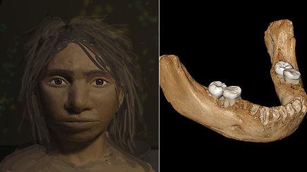 Mokslininkai atskleidė mįslingų žmonių protėvių paslaptį: 70 tūkst. m. DNR padėjo sukurti pirmą jų atvaizdą