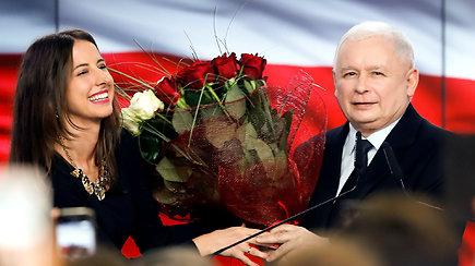 """""""Įstatymas ir teisingumas"""" laimėjo rinkimus Lenkijoje – užsitikrino daugumą"""