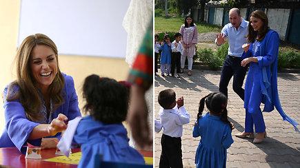 Kate Middleton ir princas Williamas išsiruošė į ypač kruopščiai suplanuotą kelionę – detalės apie vizitą Pakistane neviešinamos