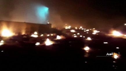 Paviešinti vaizdai, užfiksuoti iš įvykio vietos po Ukrainos oro linijų lėktuvo aviakatastrofos