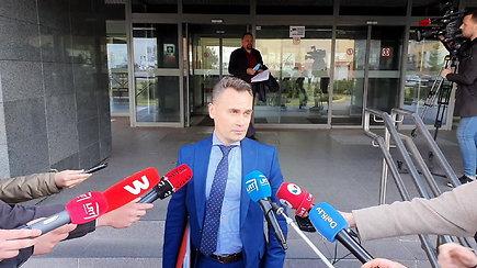 Prokuroras D.Stankevičius neatskleidė tikslių V. Sutkui pateiktų įtarimų