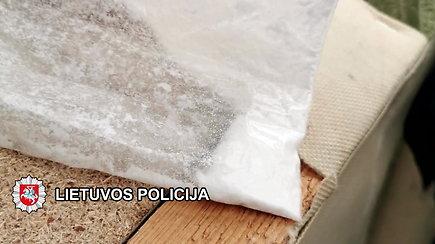 Klaipėdoje su įkalčiais sulaikyti narkotinių medžiagų platinimu įtariami asmenys