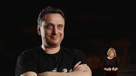 """""""Daugiau nei teatras: aktorius, režisieriaus asistentas Vaidas Jočys"""