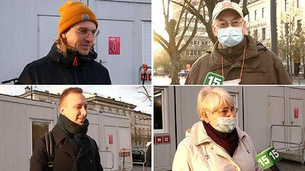 Seimo rinkimai: piliečiai išsirinko vienmandatininkus ir įvertino pirmojo turo rezultatus