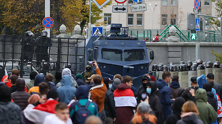 """Baltarusijoje baigėsi """"liaudies ultimatumo"""" terminas: prasideda pirmieji streikai"""