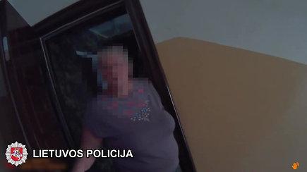 Po klaidinančio skambučio į pagalbos centrą, policijos pastangos atrasti nukentėjusiąją