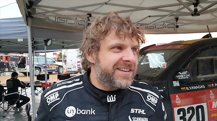 """B.Vanago kova dėl dešimtuko keliasi į paskutinį Dakaro etapą: """"Visi turime tiek, kiek esame nusipelnę turėti"""""""