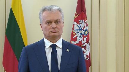 G.Nausėda apie šio vakaro Europos vadovų tarybos sesijos turinį ir JAV prezidento inauguraciją