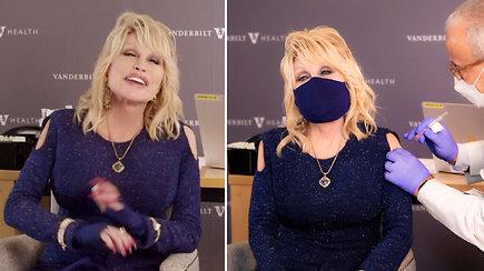 Uždainavusi prieš skiepą sulaukė internautų dėmesio: Dolly Parton pagal temą pakeitė vieną iš savo hitų