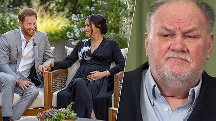 Meghan Markle tėvas: Harry ir Meghan gerokai persistengė su šiomis istorijomis Oprah