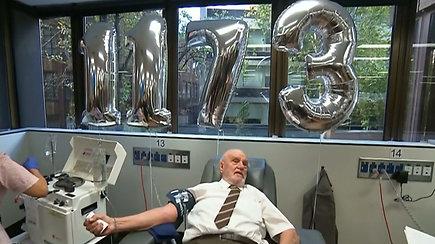 Donoro kraujas išgelbėjo daugiau nei 2,4 mln. kūdikių
