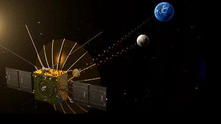 Paleistas pirmasis pasaulyje komunikacijai su nematoma mėnulio puse skirtas palydovas