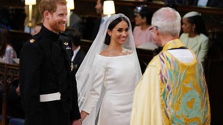 Susituokę: Princas Harry ir Meghan Markle prisiekė amžiną meilę
