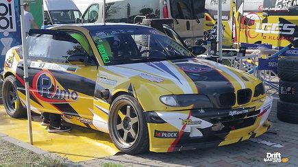 """Benedikto Čirbos važiavimai ketvirtame """"Europos drifto čempionato"""" etape Lenkijoje"""