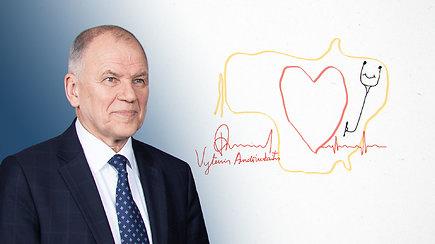Kandidatas piešia Lietuvos ateitį. V.Andriukaitis: Lietuva, širdis ir stetoskopas