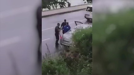 Egidijus Dragūnas vėl sulaikytas policijos pareigūnų