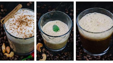3 kavos receptai: aromatingai, skaniai ir netradiciškai