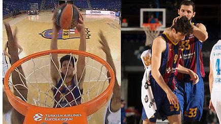 Pakeliui į NBA: triuškinantis jaunojo Šaro auklėtinio dėjimas