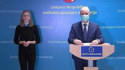 Komentarai iš SAM – A.Veryga apie COVID-19 infekciją Lietuvoje