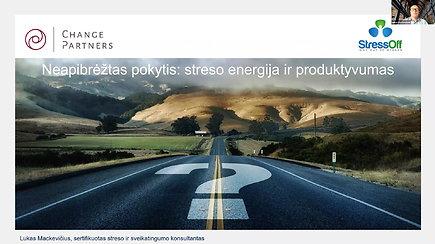 Neapibrėžtas pokytis: streso energija ir produktyvumas