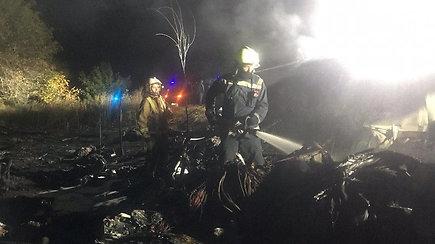 Ukrainoje sudužus oro pajėgų lėktuvui žuvo 26 žmonės – liudininkai pasakojo matę degančius žmones