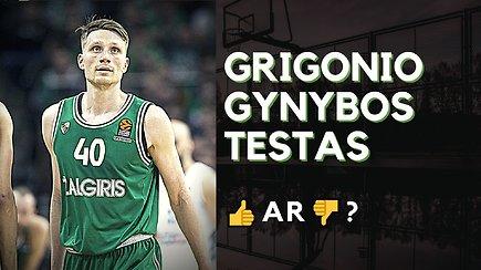 Pliusai ir minusai: Marius Grigonis ir jo gynybos egzaminas
