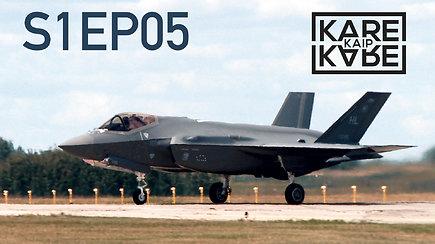 F-35 naikintuvo proveržis Europoje ir žvilgsnis į karinį lėktuvą, kuris bus valdomas rankų judesiais