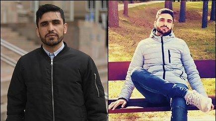 """Naqeeb Kazame nuo teroristinių grupuočių slepiasi Lietuvoje: """"Mano tėvą nužudė man prieš akis"""""""