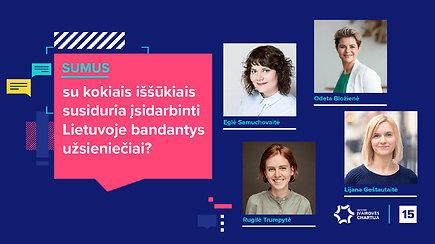 SUMUS: su kokiais iššūkiais susiduria įsidarbinti Lietuvoje bandantys užsieniečiai?