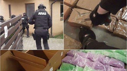 Narkotikų kontrabandos sulaikymai Lietuvos muitinėje 2019 m.