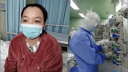 Ištrūko iš mirties gniaužtų: pora mėnesių dėl gyvybės su koronavirusu kovojusi kinė visiškai pasveiko
