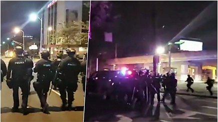 Per protestus dėl juodaodės B.Taylor mirties Luisvilyje pašauti 2 policininkai