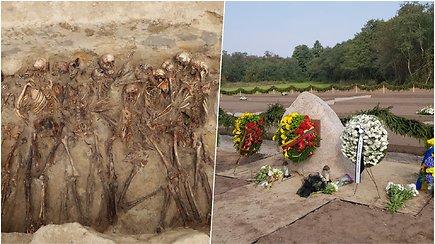 Šiurpi istorinė atmintis Macikuose: perlaidoti po keliu rasti karo belaisvių palaikai